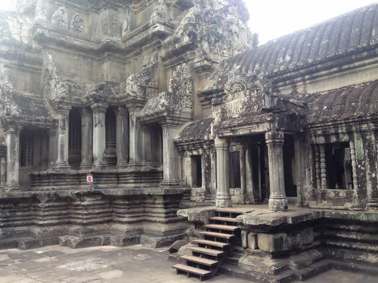 Los templos de Angkor para mochileros