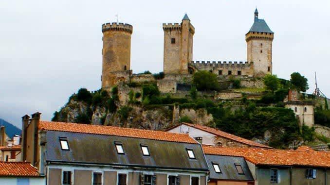 El inexpugnable castillo de los condes de Foix