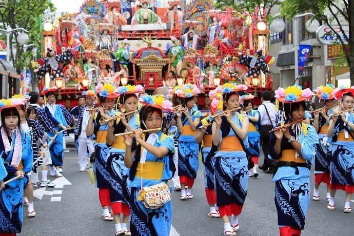 Visitar Japón en agosto. Eventos y festivos.