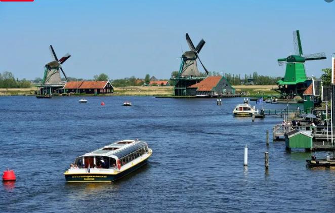 Zaanse Schans: la ciudad de los molinos de viento