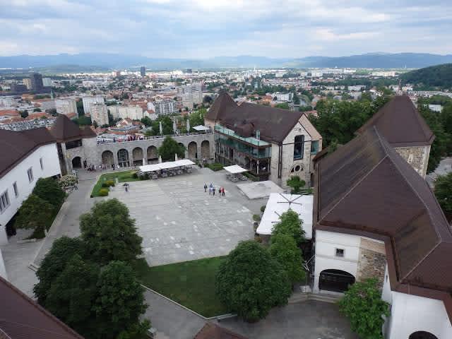 La fortaleza medieval de Liubliana