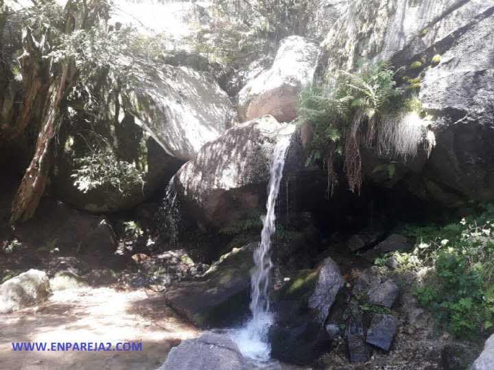 Ducha de los alemanes en la Sierra de Guadarrama (Madrid)