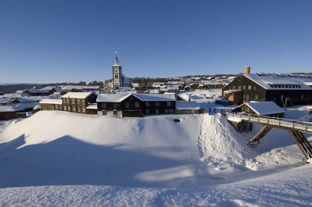 Pueblo Minero de Røros (Noruega)