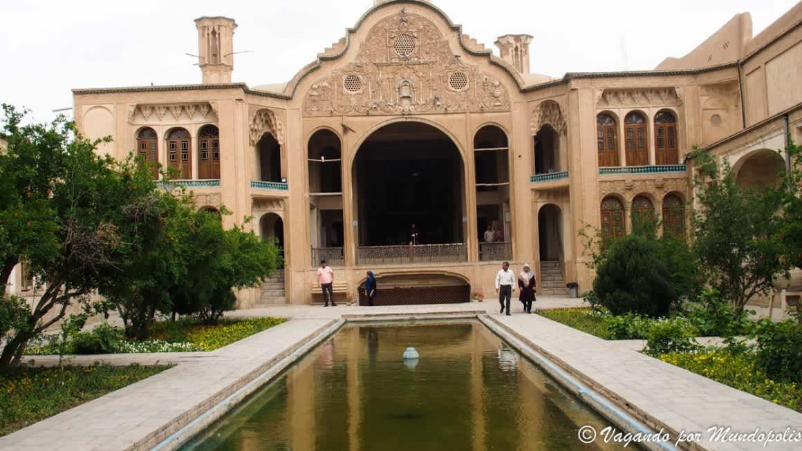 Que ver en Kashan, sus casas históricas