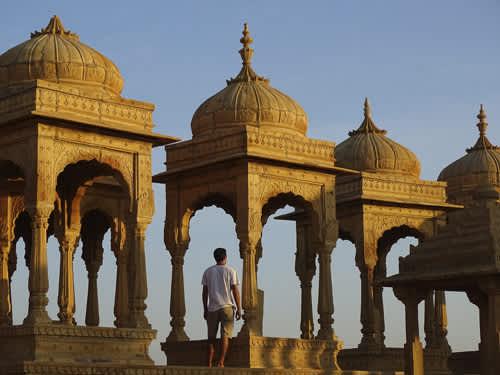 Dónde ver atardecer en Jaisalmer
