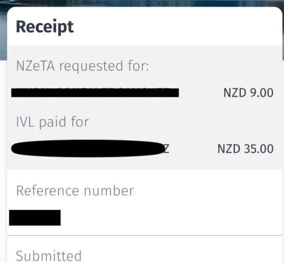 Nuevos Requisitos para viajar a Nueva Zelanda, Nzeta y IVL