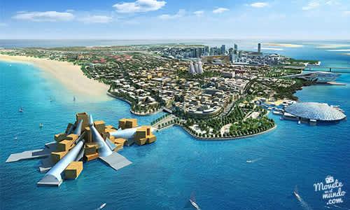 Abu Dhabi: la capital de Emiratos Árabes