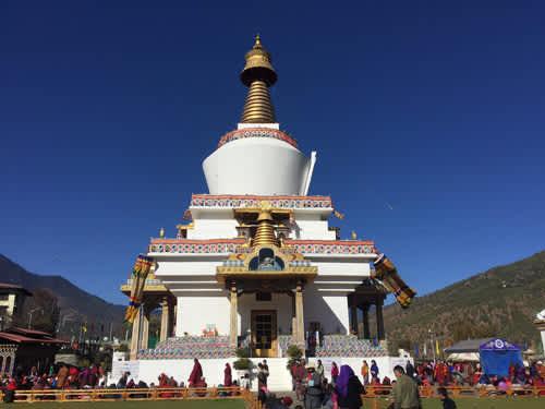Ruta de viaje por Bután