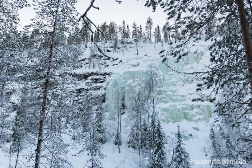 Visitar el cañón de Korouoma y sus cascadas heladas - Un paisaje de hielo y ensueño