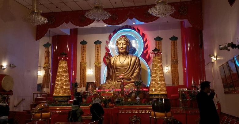 Templo budista Mahayana en Nueva York
