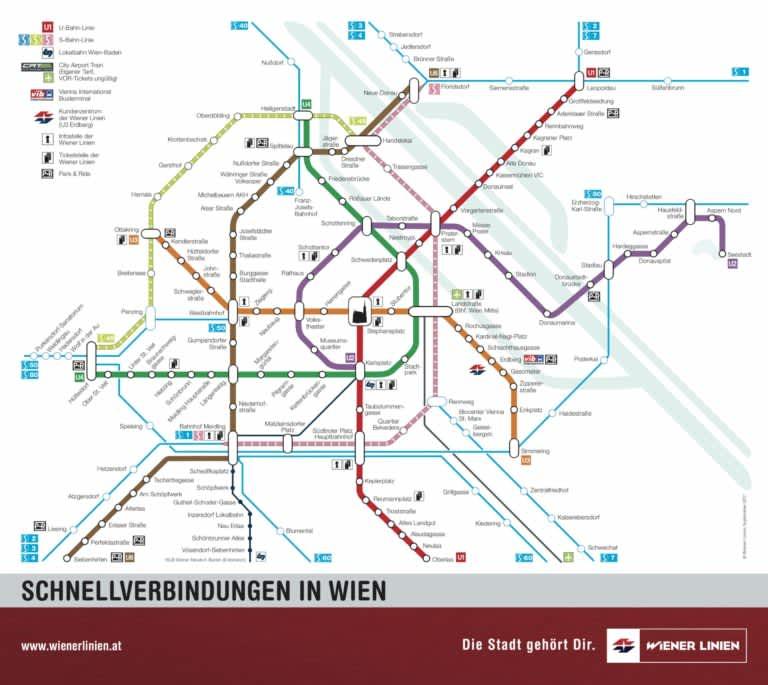 Cómo usar el transporte en Viena y otros datos de interés