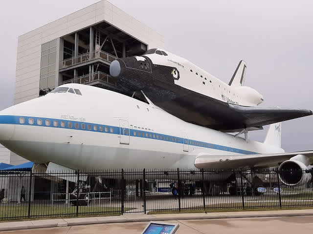 Visita al NASA Space Center, Houston