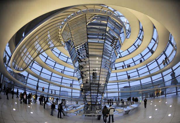Visitar la cúpula del Reichstag en Berlín