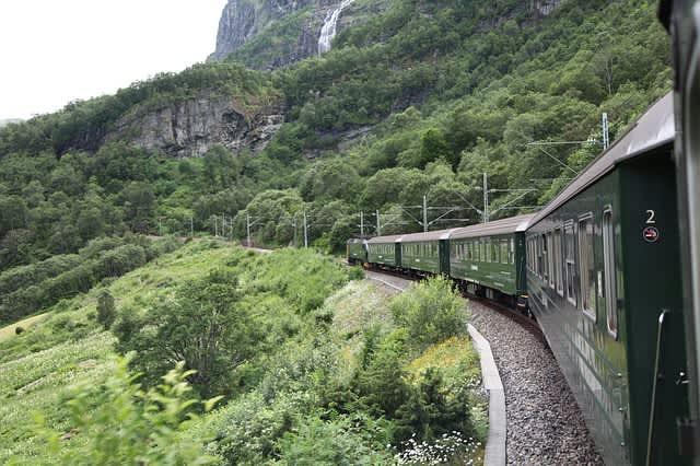 Excursión del tren de Flam. Uno de los mejores viajes en tren del mundo