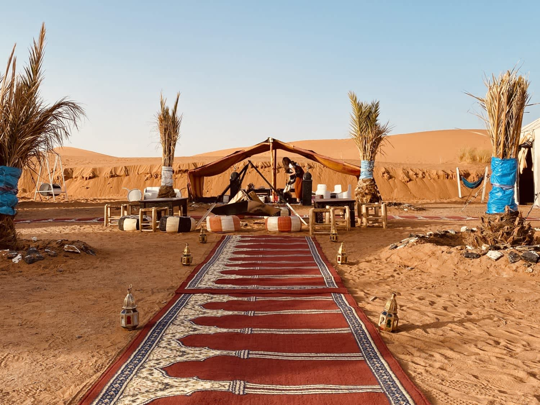 Ruta de lujo al desierto de Merzouga (Sáhara)