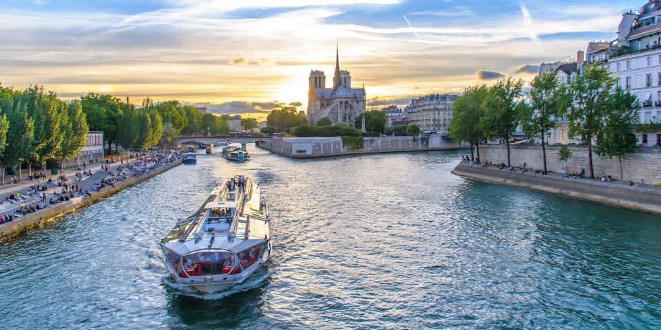 Cómo hacer un inolvidable tour por el rio Sena
