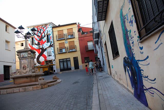 Fanzara, descubriendo códigos QR en la capital rural del graffiti