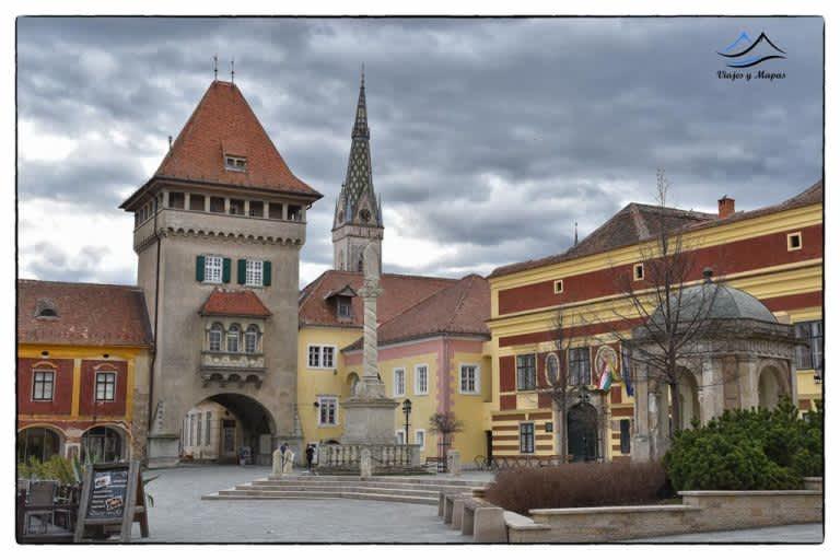Kőszeg «uno de los pueblos más bonitos de Hungría»