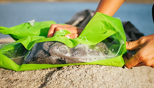 bolsa portátil para lavar la ropa de viaje scrubba wash bag
