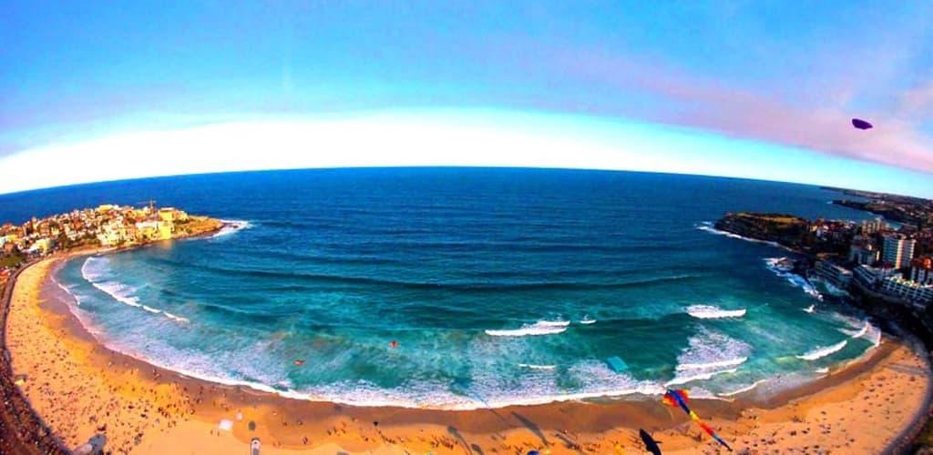 praia de bondi em sydney na Australia