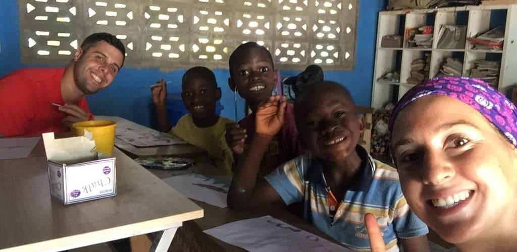 experiencia social em Ghana