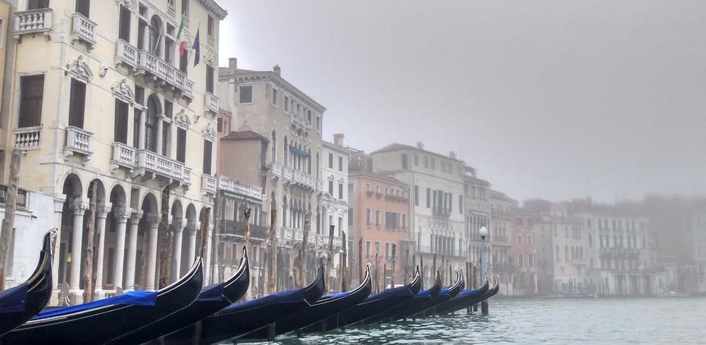 Barcos de Veneza