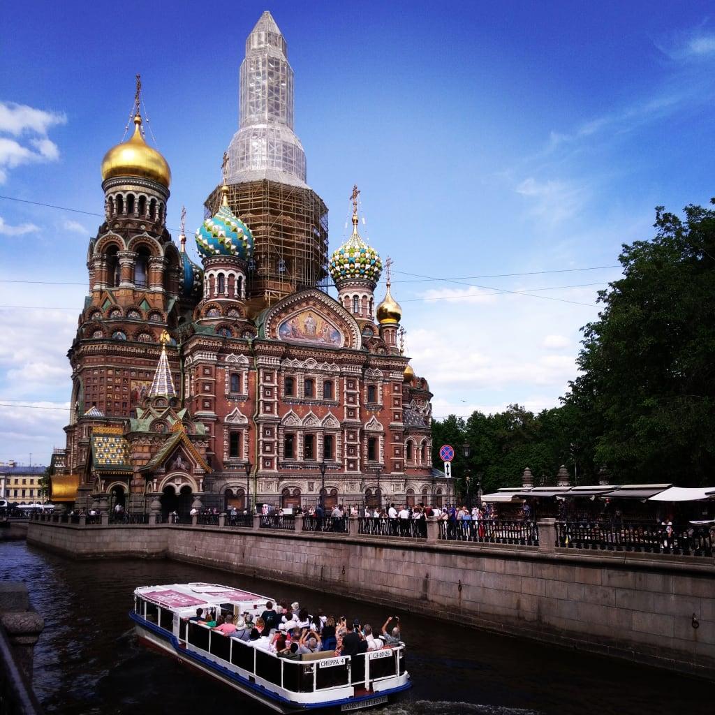 O que fazer na Rússia: Catedral do Sangue Derramado, São Petersburgo.