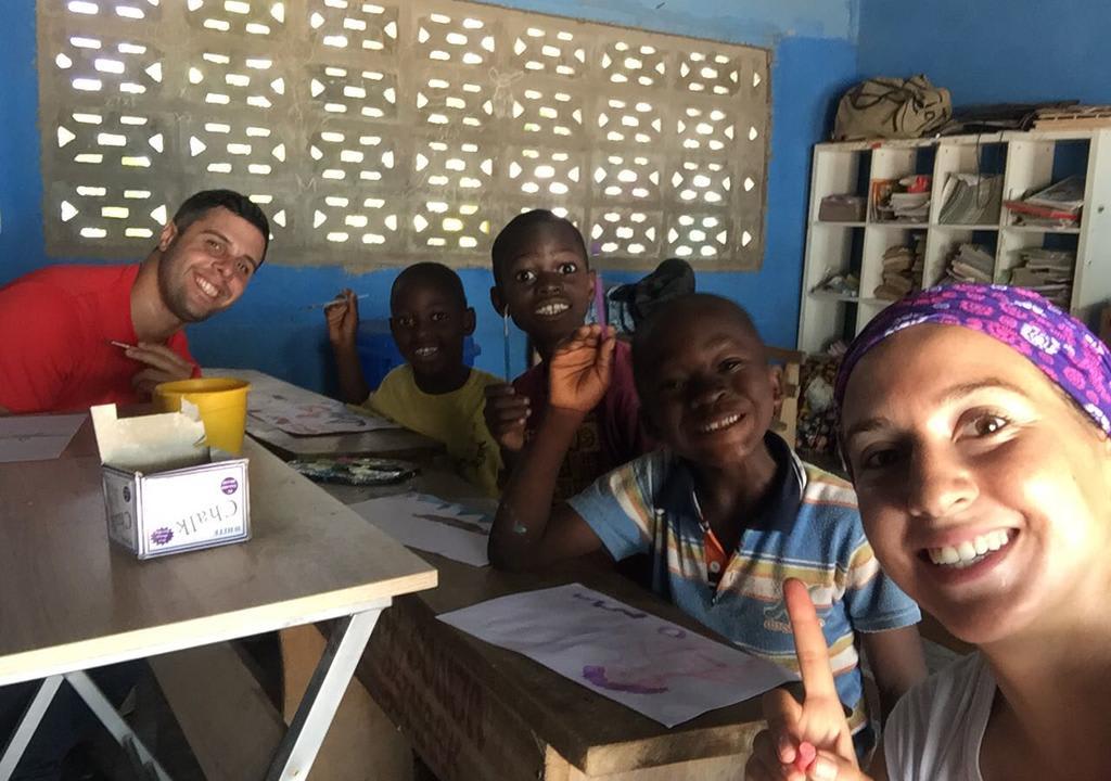 experiencia social en Ghana