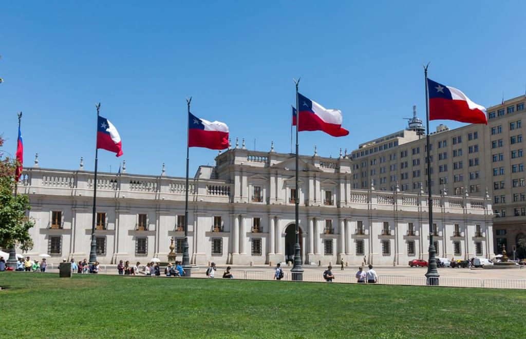 Plaza de la Moneda, Santiago, Chile