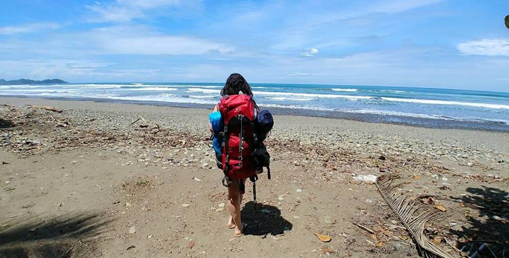 La alegría de viajar sola por latinoamerica