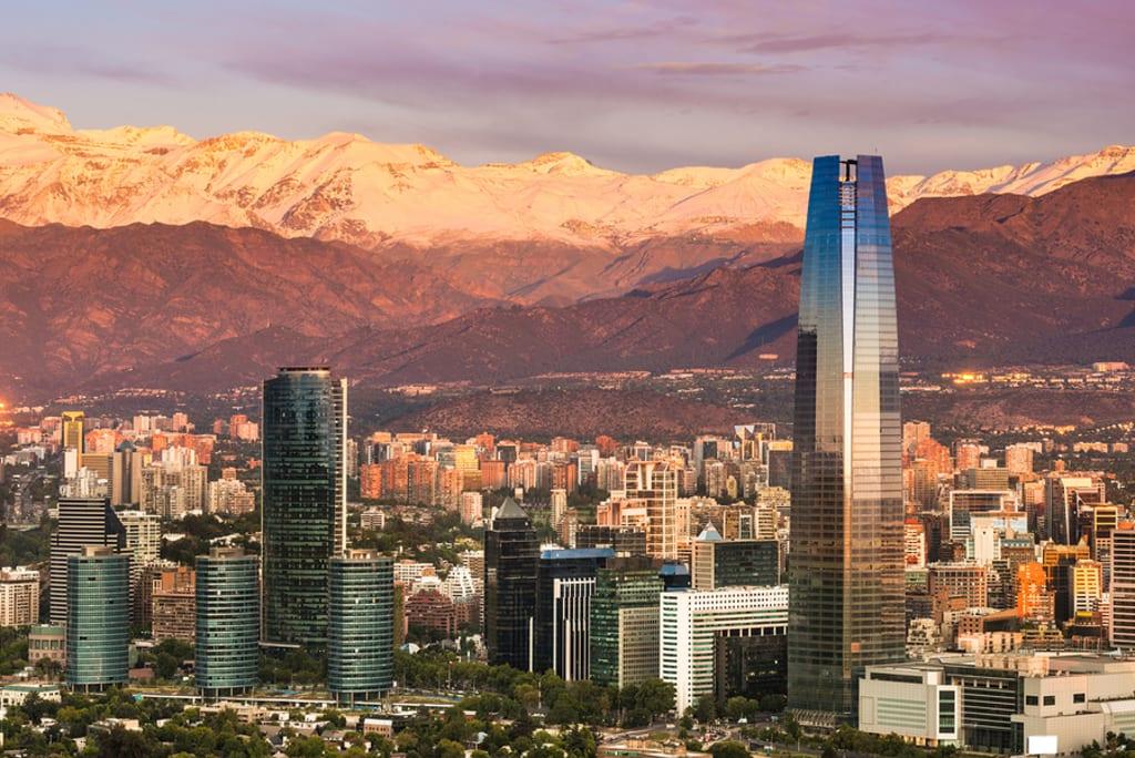 Santiago é a capital e com ótimas opções do que fazer no Chile