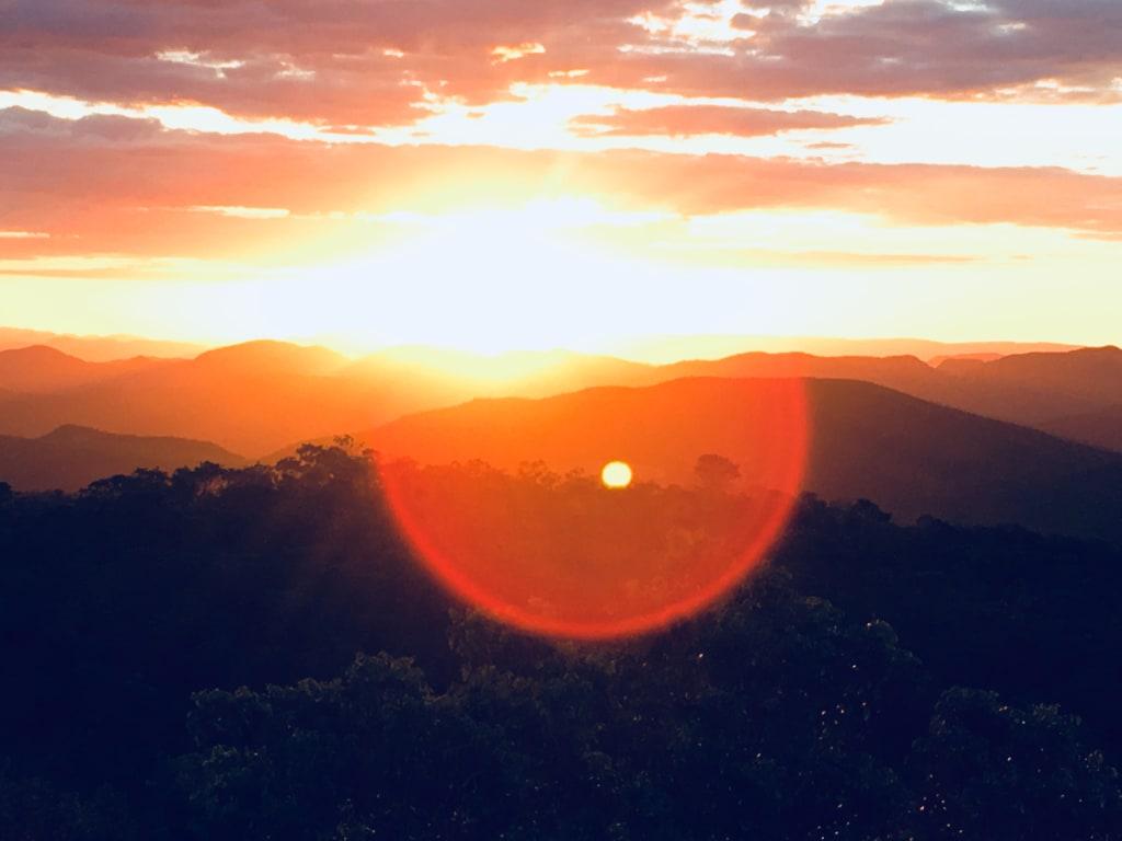 Pôr do Sol na Chapada dos Veadeiros