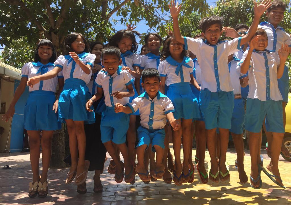 Los niños en Cambodia