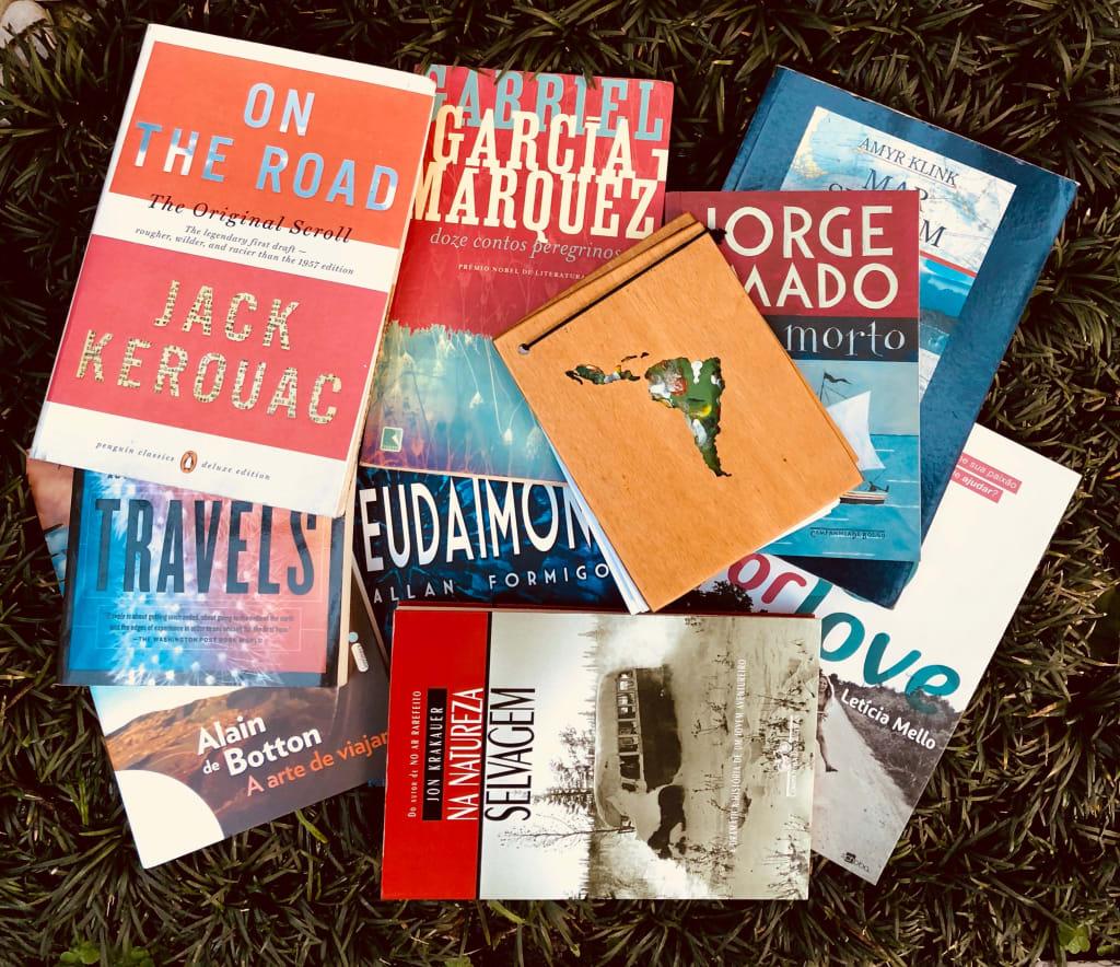 Uma volta ao mundo em 28 livros de viagem