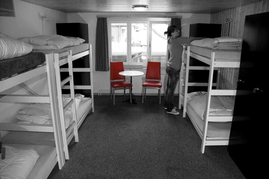housekeeping en un hostal