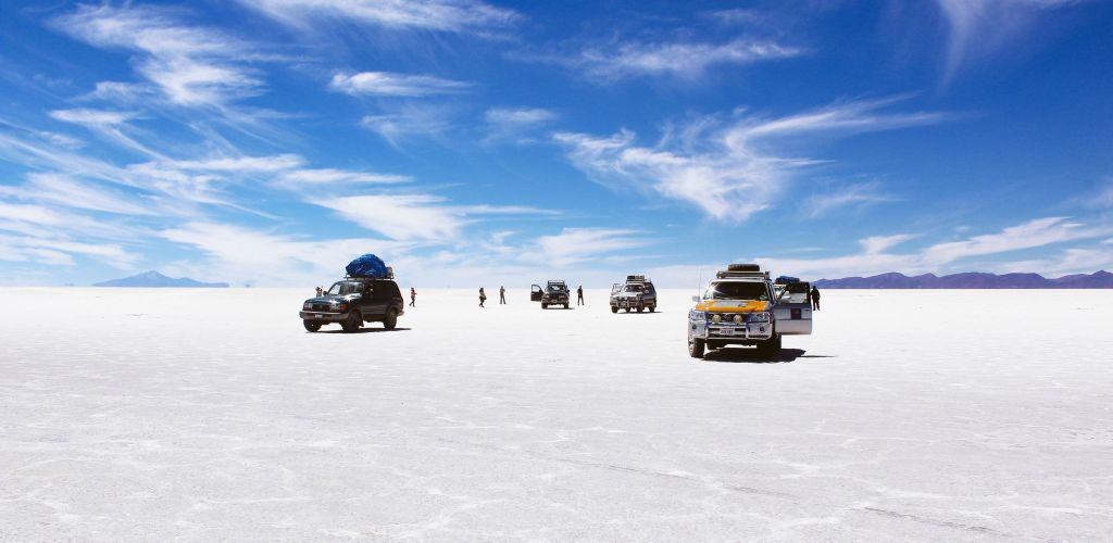 Salar de Uyuni é umas das principais atrações do que fazer na Bolivia