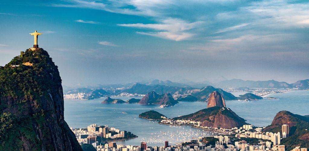 A cidade do Rio de Janeiro é uma das mais turísticas do país