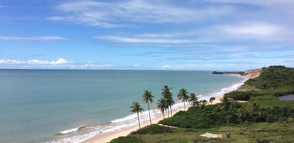 Praia em João Pessoa