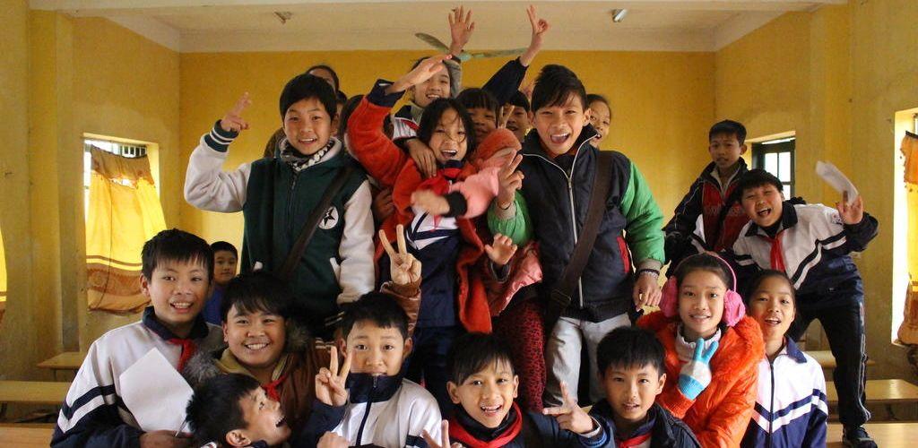 Niños de Vietnam