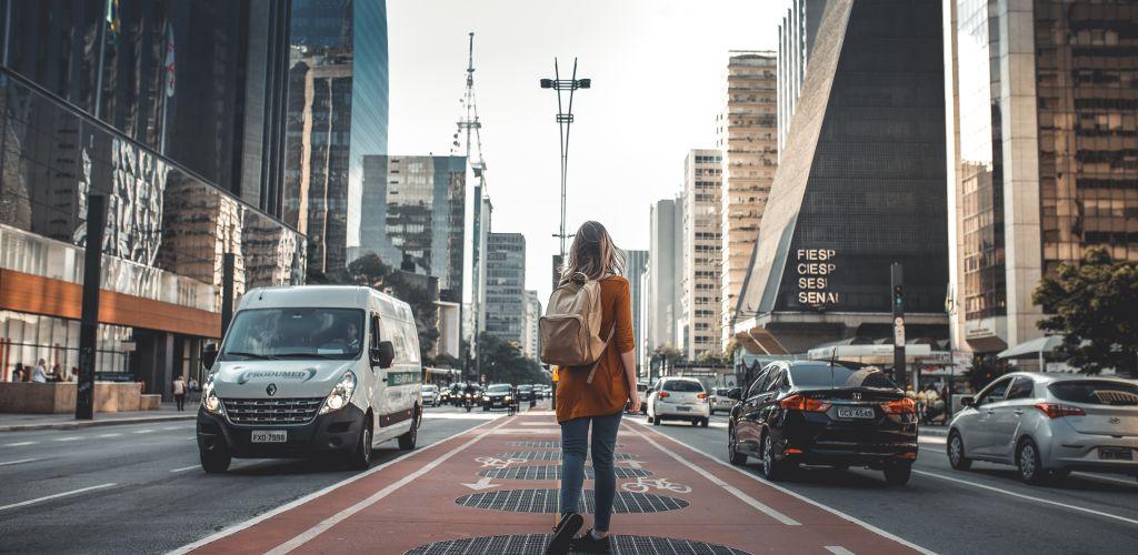 Avenida Paulista, popular avenida de São Paulo