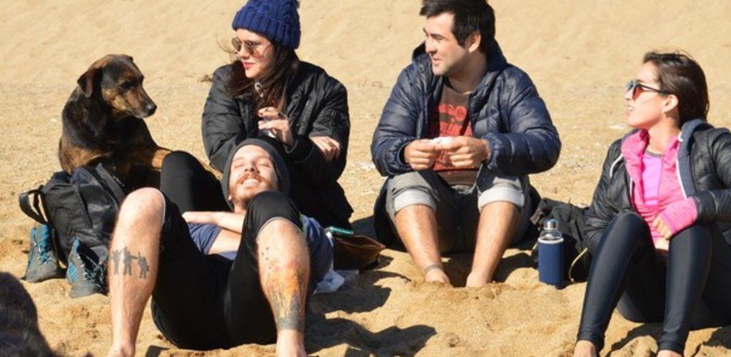 Amigos feitos durante voluntariado no Chile