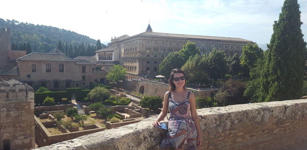 voluntária na Espanha