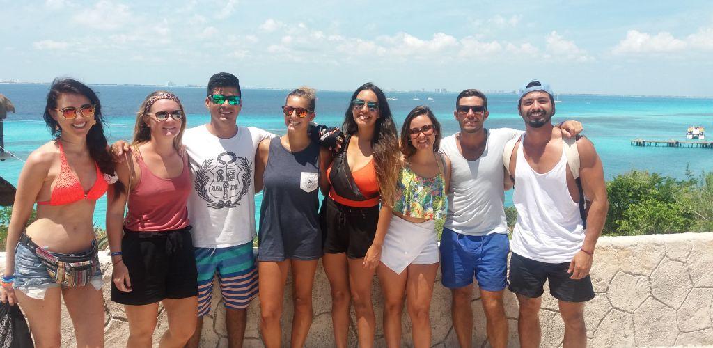 Voluntária em Cancun