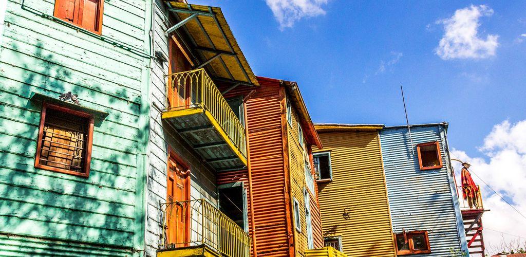 Caminito, famoso bairro de Buenos Aires