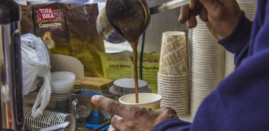 café na Palestina
