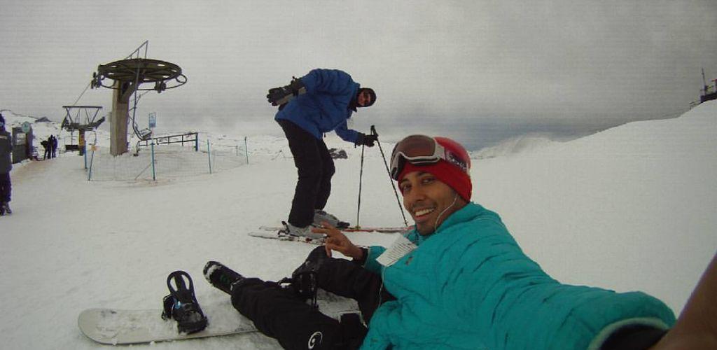 Esquiar é uma das principais atividades turísticas no Chile
