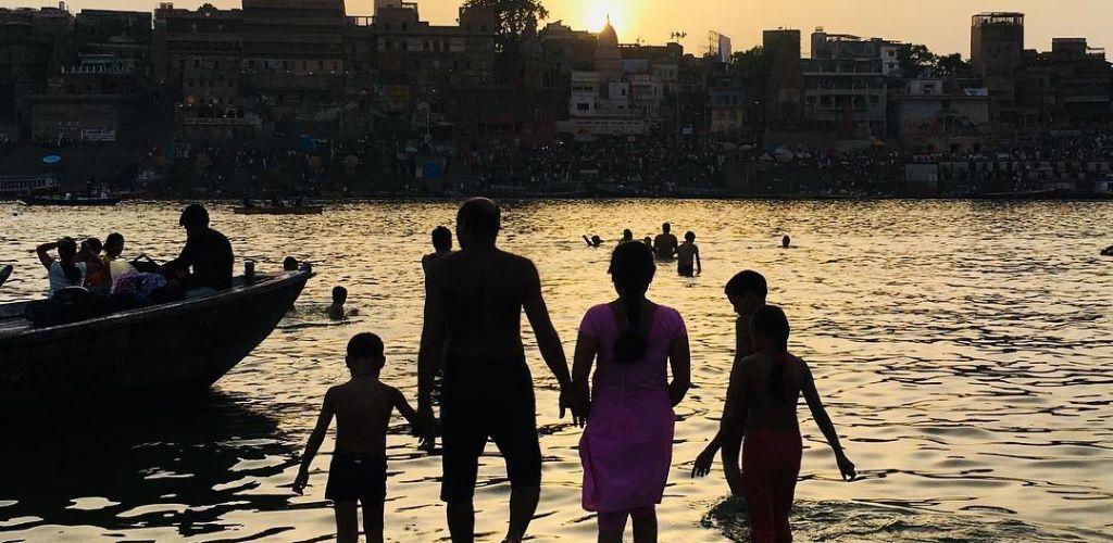 Foto que Gustavo Goulart tirou na India
