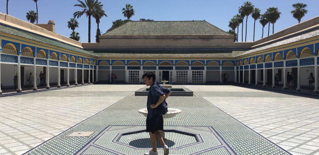 Viajero en Marruecos