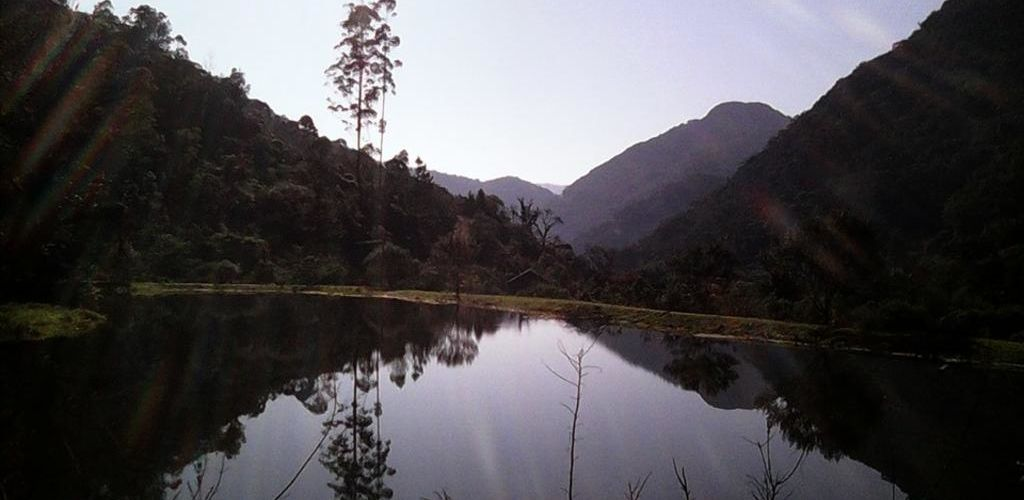 Paisagem da Pousada Signora Del Lago