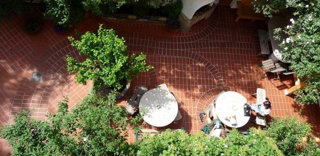 jardim do hostel